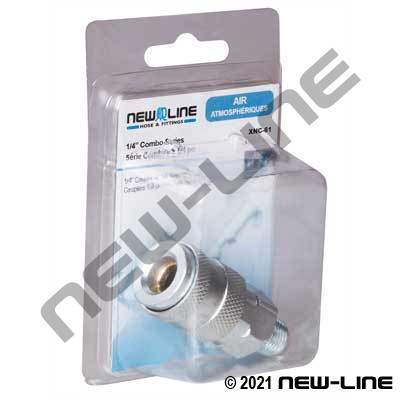 Combo Coupler x Male NPT - Retail Packaging