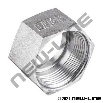 Eaton Female ORFS Tube Nut