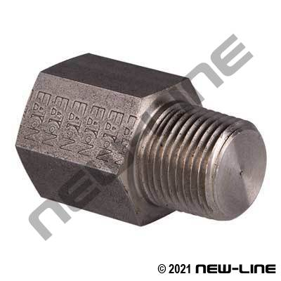 "Eaton Female NPT Straight X 3/8"" Male NPT Restrictor Blank"