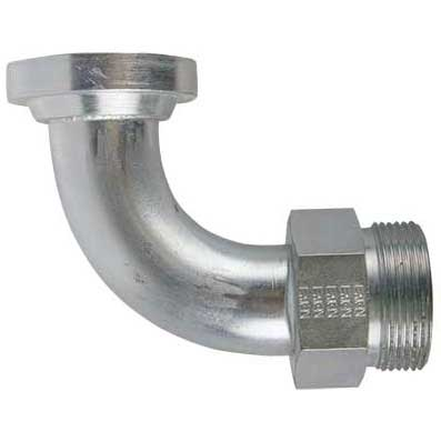 Eaton Male ORFS X C62 Flange 90° Sweep Tube Elbow