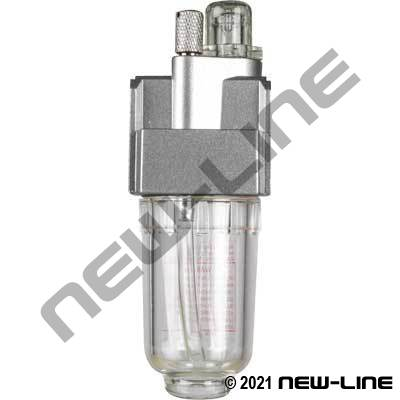 Standard Air Micro-Fog Lubricator - Mini Body