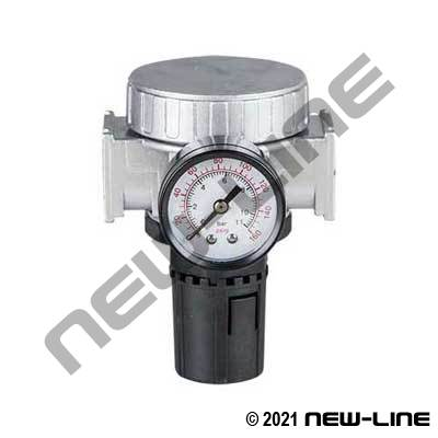 Standard Air Regulator with Gauge