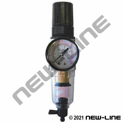 Piggyback Air Filter & Regulator - Mini Body