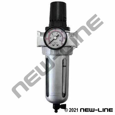 Piggyback Air Filter & Regulator