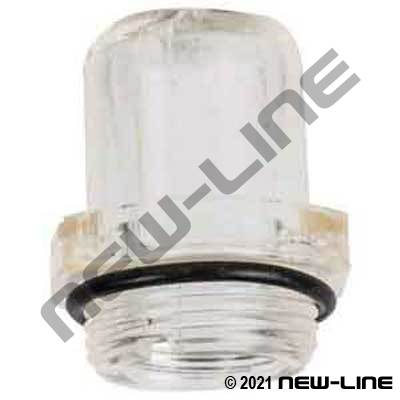 Replacement Domed Sight Glass for N3xxx Lubricators