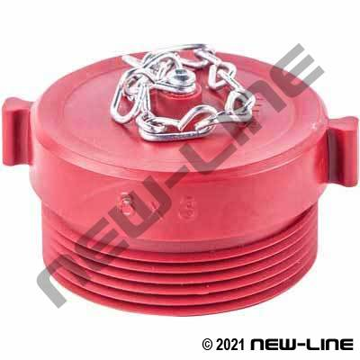 MBAT Red Polycarbonate Plug with Chain