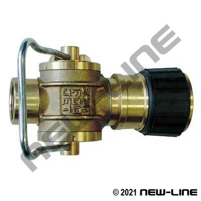 3-Position Brass Nozzle - Adapter Not Included