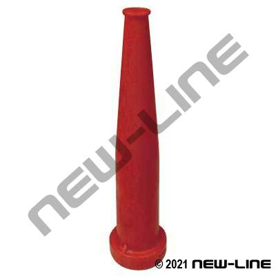 Red Polypropylene Tapered Nozzle