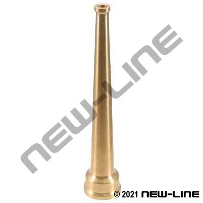 Solid Brass Straight Stream Nozzle
