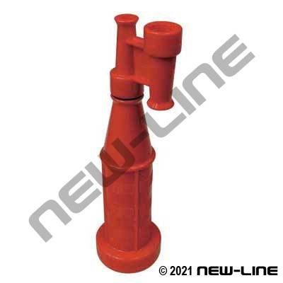 Red Polypropylene Tapered Nozzle with Multi Tips
