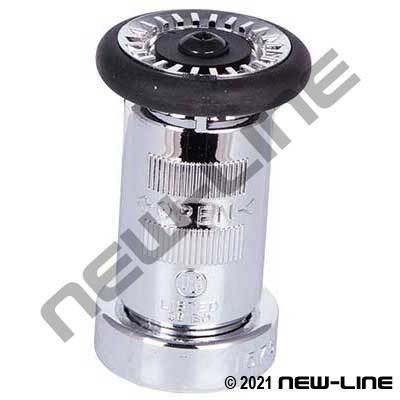 Chrome Colored Polycarbonate Fog Nozzle