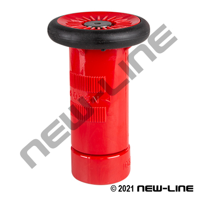 Red Polycarbonate Fog Nozzle NH/NST - Non-ULC