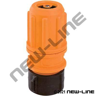 Female Hi-Vis Polypropylene Multi-Flow Nozzle