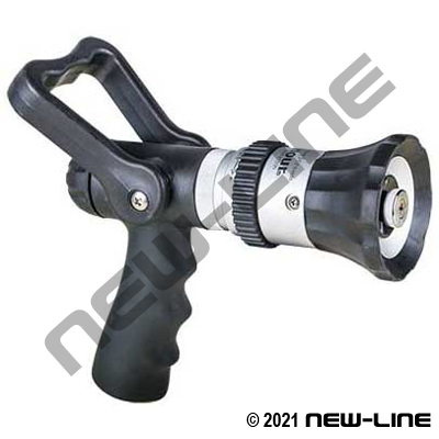 GHT Turbo Fog Nozzle with Handle Control