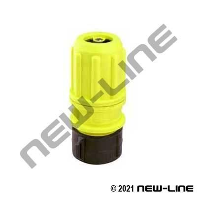 Hi-Vis Polypropylene Multi-Flow Female NPSH Nozzle
