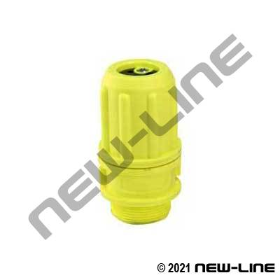 Hi-Vis Polypropylene Multi-Flow Male NPSH Nozzle