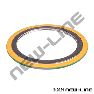300# Raised Face 316 Stainless Spiral Wound Flange Gasket