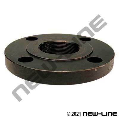 Forged Steel 150# ANSI NPT Flat Face Flange