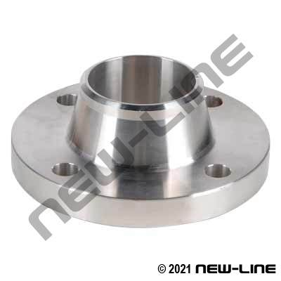 304SS Weld-Neck 150# Raised Face ANSI Flange