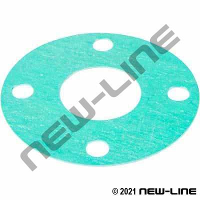 Nitrile Fibre Full Face Gasket for PN16 Metric Flange