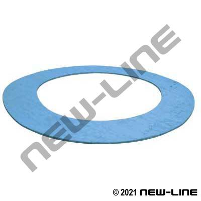 PTFE Duralon 9000 150# Raised Face Flange Gasket