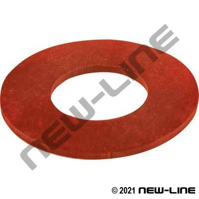 Red SBR 150# Raised Face Flange Gasket