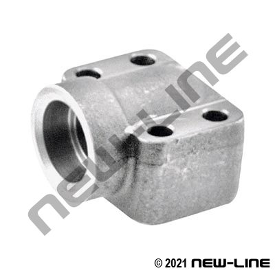 Pipe Socket Weld X C62 O-Ring Flange 90° Elbow