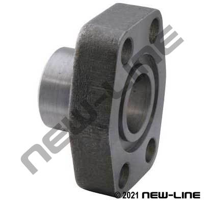 Tube Socket Weld x C61 O-Ring Flange Block