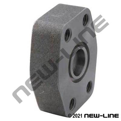 PIPE Socket Weld x C61 O-Ring Flange Block