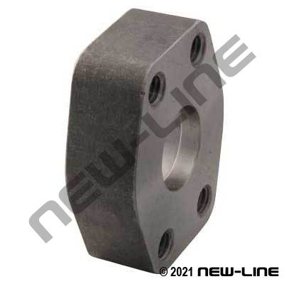 PIPE Socket Weld x C61 Companion Flat Face Flange Black