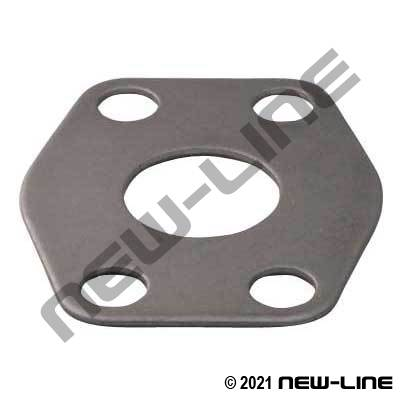 C61 Flange Connector Spacer Plate (For 2 O-Ring Flanges)