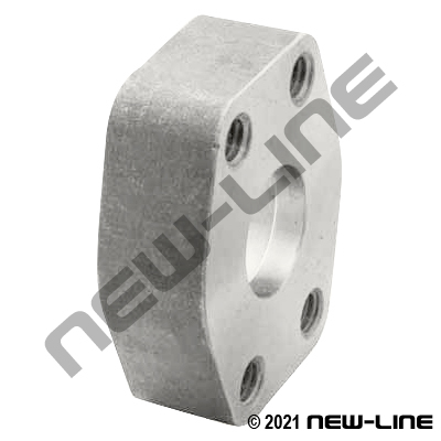 Pipe Socket Weld x C61 Companion Flat Face Flange SS