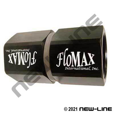 Flomax Standard Fuel Swivel - Double Nut FNPT x FNPT