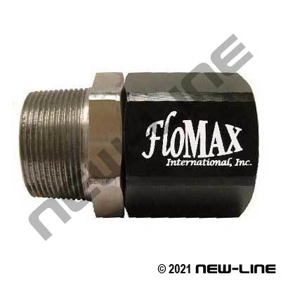 Flomax Standard Fuel Swivel - Male NPT x Female NPT