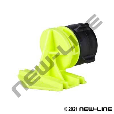 Hi-Vis Poly Squall Wall Water Nozzle - Female NPSH