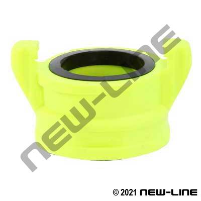 Hi-Vis Polypropylene Female NPSH Forestry Adapter