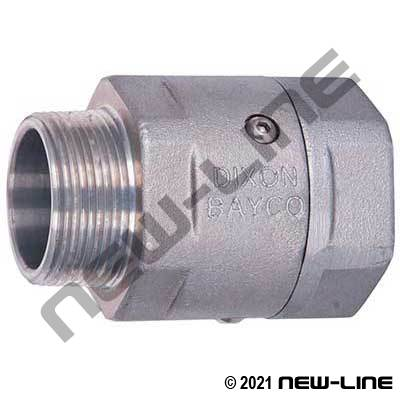 Aluminum Heavy Duty MxF NPT Live Swivel