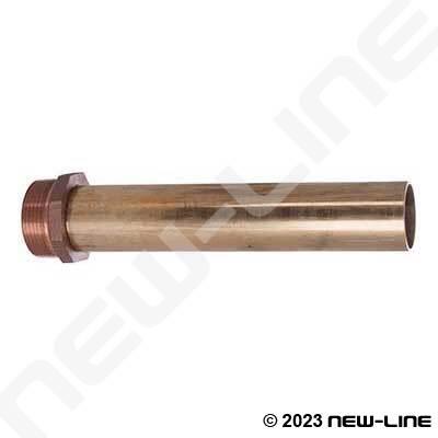 Replacement Brass Spout For Bulk Nozzle