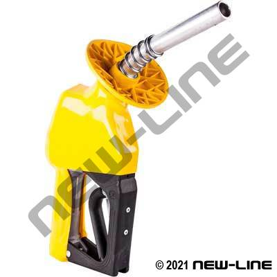 Service Station Yellow Fuel Nozzle (with Hold Open Rack)