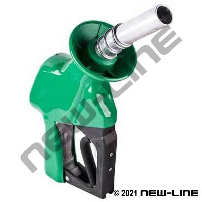 Service Station Green Fuel Nozzle (with Hold Open Rack)