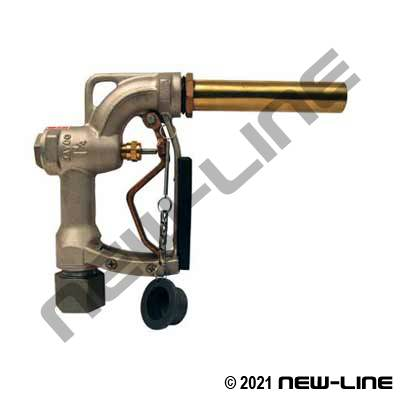 Manual Aircraft Nozzle with Spout (Over Wing)