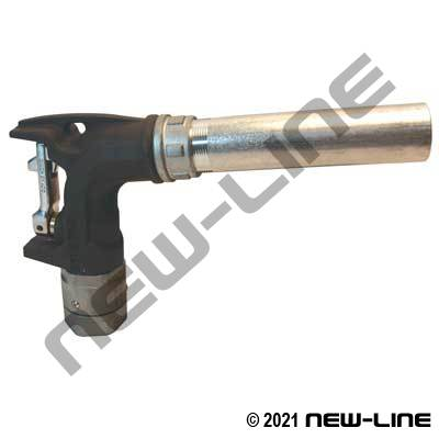 Bulk Fuel Ball Nozzle With Spout