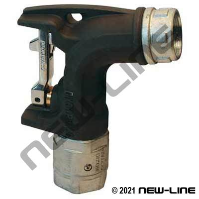 Bulk Fuel Ball Nozzle with No Spout