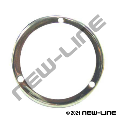 Round Panel Mount For Gauge (Lower Mount or Center Back)