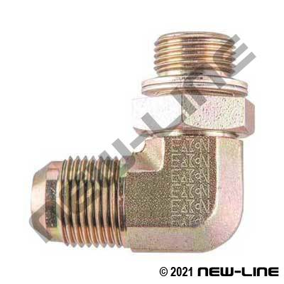 Eaton Male JIC x Male Metric Port 90°