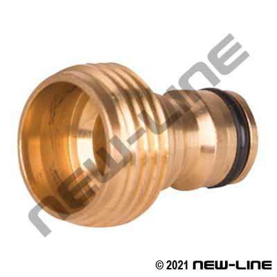Brass GHT Deluxe Quick Connect Plug