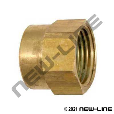 Brass Female NPT x Female GHT Solid