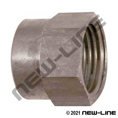 Stainless Steel Female NPT X Female GHT Solid