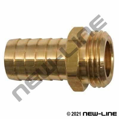 Brass Male Garden Hose Thread Stem