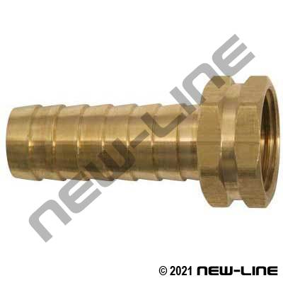 Brass Female Garden Hose Thread X Long Hose Barb